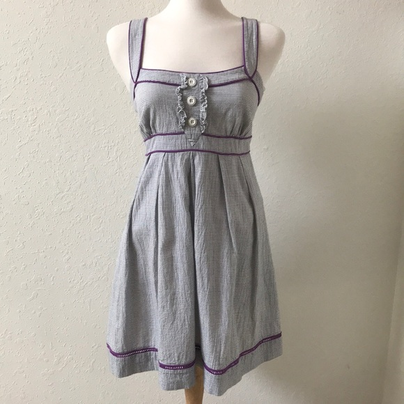 8bd7e562fd Jessica Simpson Dresses   Skirts - Jessica Simpson seersucker and purple  sundress